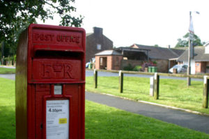 Temple Sowerby, Cumbria, Westmorland, post box