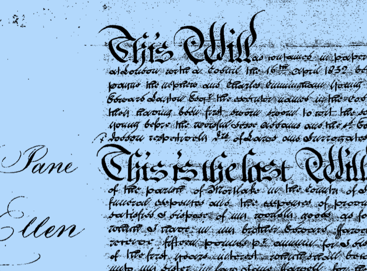 Tracing your family history: Wills