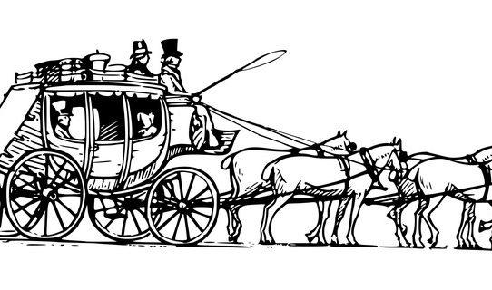 All mod cons, on a 1777 stagecoach