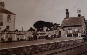 Port Carlisle station railway Hope and Anchor