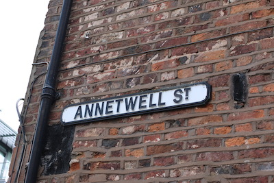 Annetwell Street, Carlisle, den of thieves, Cumbrian Characters