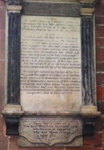 Senhouse, Fleming, Carlisle Cathedral,