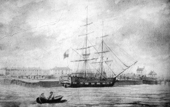 Brig Robert Burns – 51 years before Titanic
