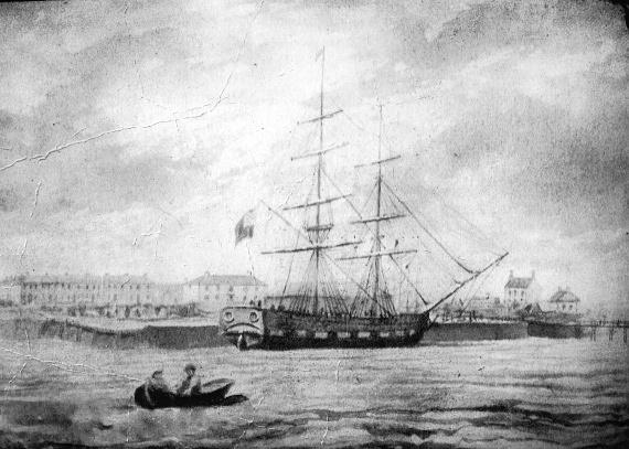 Brig Robert Burns - 51 years before Titanic