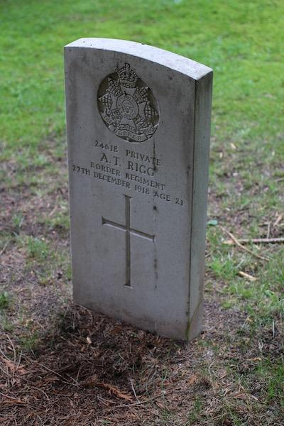 Allan Rigg, Cumbrian Characters, First World War, gas, Beacon Edge, Penrith