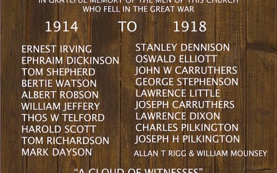 Penrith brothers in arms: the Pilkingtons