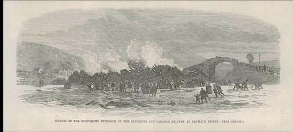 The Yanwath railway explosion