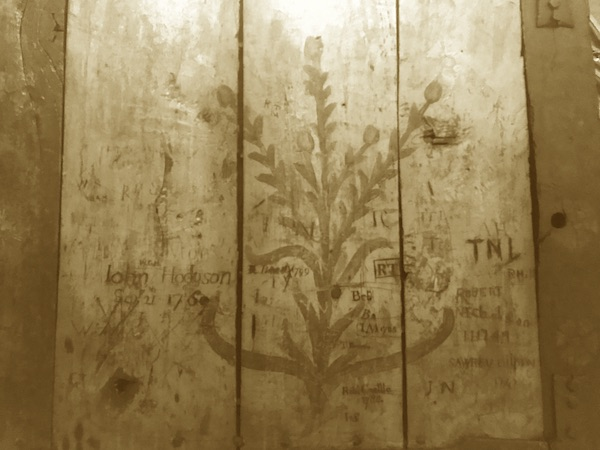 graffiti the good the bad and the ugly, Cumbrian Characters, Carlisle Cathedral,