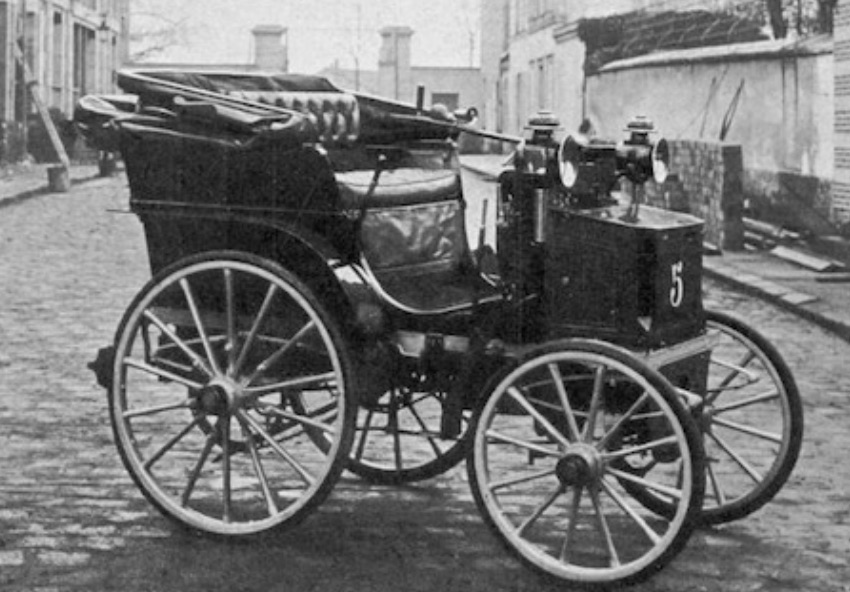 first motor cars, Cumbrian Characters, Panhard and Levassor,