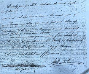 Hutton John, notice to quit, Cumbrian Characters, Hudlestone, High Gate, Highgate