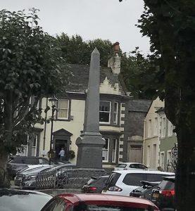 Dr Anthony Peat, Workington, Portland Square, obelisk, Cumbrian Characters,