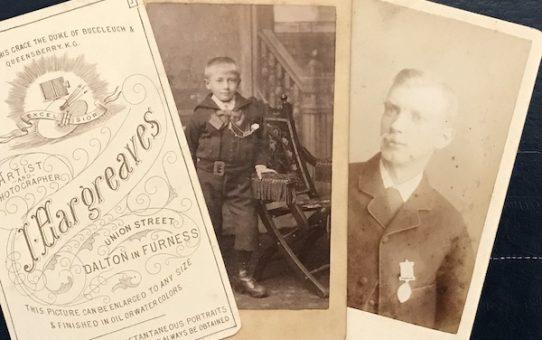 Cartes de visite – snapshots of history