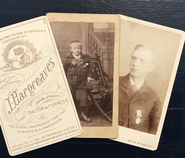 Cartes de visite - snapshots of history