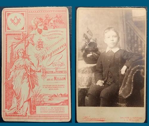 cartes de visite, James Hargreaves, Cumbrian Characters,