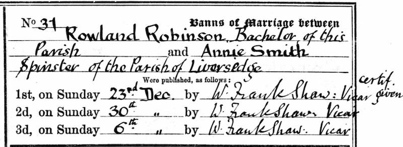 Annie Robinson murder in mind