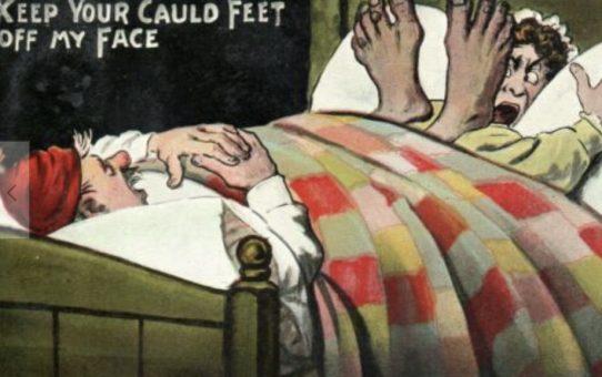 Dead but no one noticed: sleeping arrangements 1800s